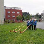 Spatenstich 19. August 2016 - Überbauung Säntisblick 1+2, 9215 Schönenberg an der Thur - Eigentumswohnungen Thurgau